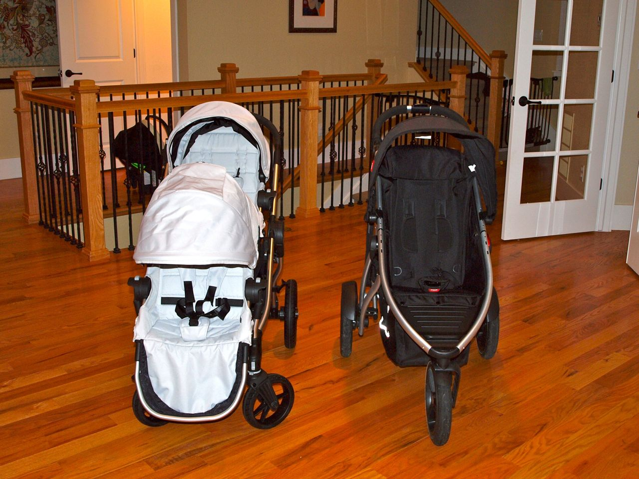 In Line Double Stroller Review Baby Jogger City Select Vs