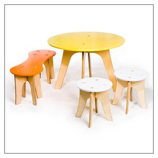 Found: Offi Modern Kidu0027s Tables And Chairs Set More Than 50% Off!   The Mom  Edit