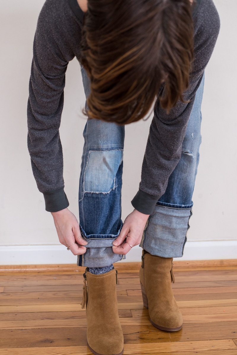 Boyfriend Jeans I Want To Wear Them With Heels But My Life Doesnu0026#39;t Support That - The Mom Edit
