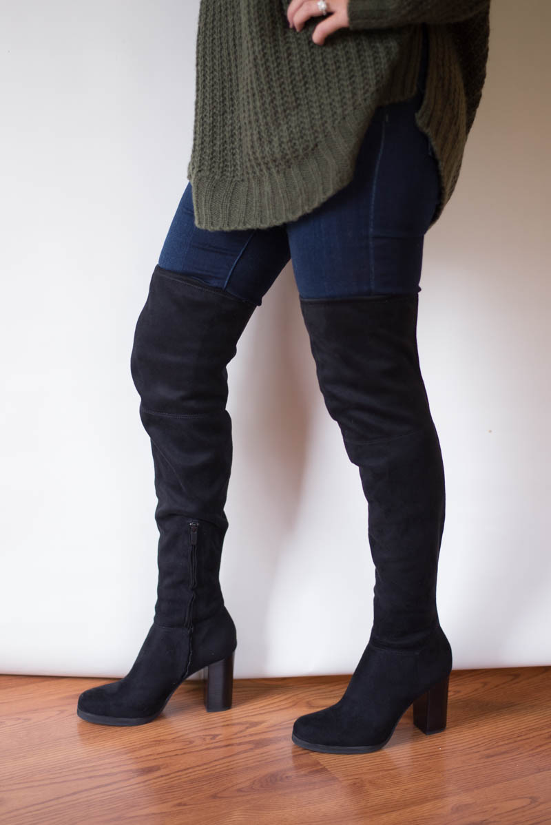 How to Wear Boots over Knee or above Knee?