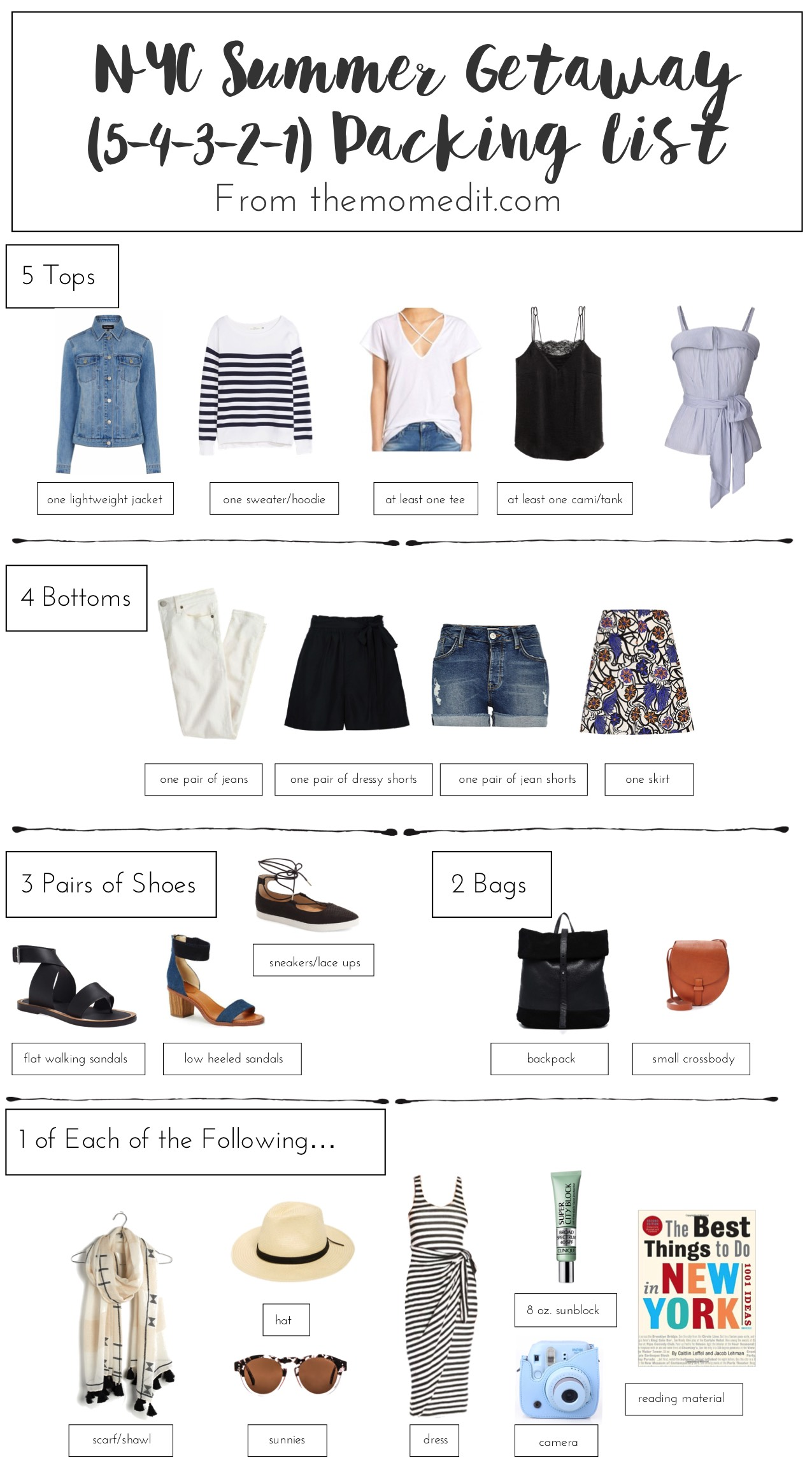 Packing Essentials For A Summer Girls Trip To Nyc The 5
