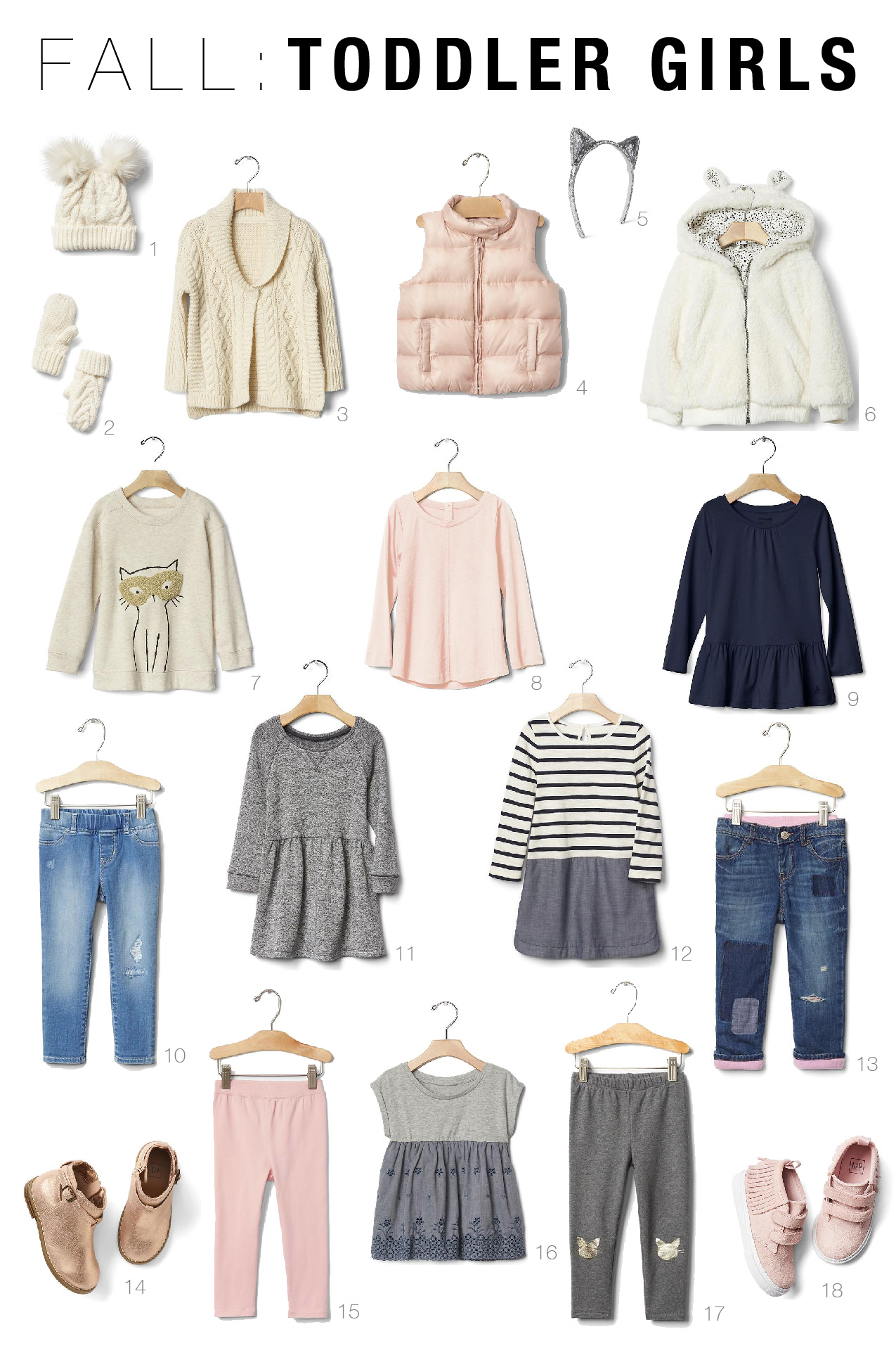 Fall Capsule Wardrobes For Toddlers And Kids